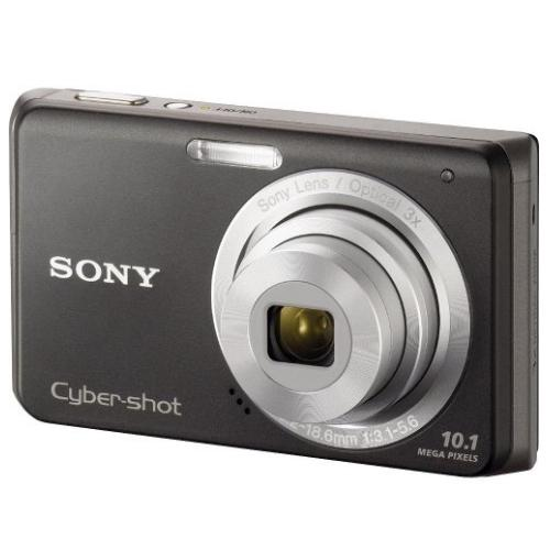 DSCW180/B Cyber-shot Digital Still Camera; Black