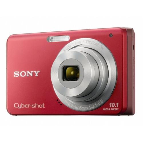 DSCW180/R Cyber-shot Digital Still Camera; Red