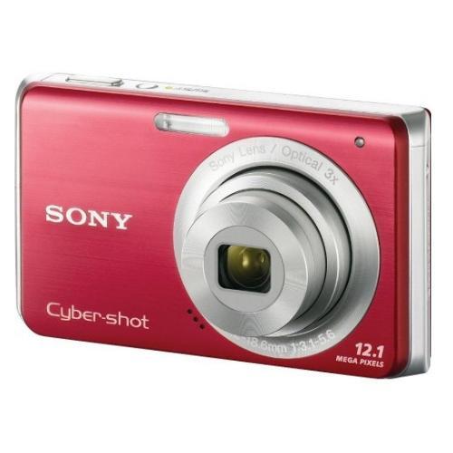 DSCW190/R Cyber-shot Digital Still Camera; Red