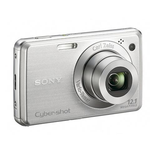 DSCW220 Cyber-shot Digital Still Camera; Silver