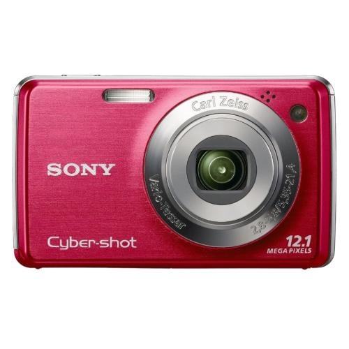 DSCW230/R Cyber-shot Digital Still Camera; Red