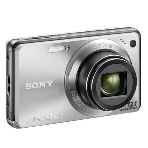 DSCW290 Cyber-shot Digital Still Camera; Silver