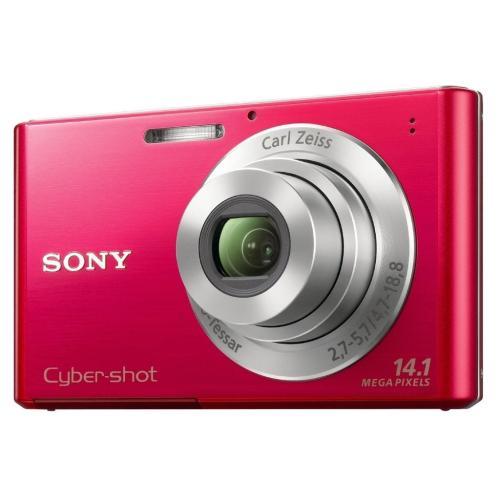 DSCW330/R Cyber-shot Digital Still Camera; Red