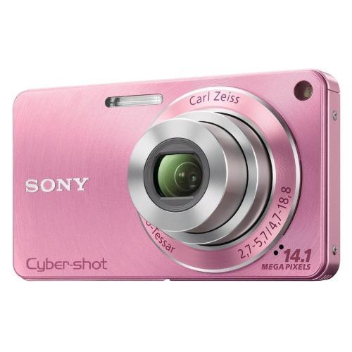 DSCW350/P Cyber-shot Digital Still Camera; Pink