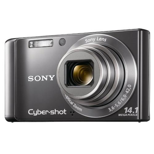 DSCW370 Cyber-shot Digital Still Camera; Silver