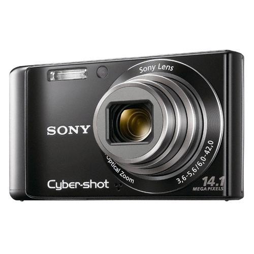 DSCW370/B Cyber-shot Digital Still Camera; Black