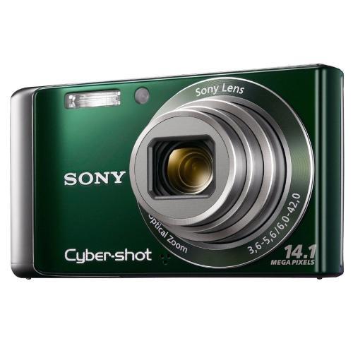 DSCW370/G Cyber-shot Digital Still Camera; Green