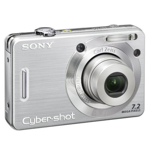 DSCW55 Cyber-shot Digital Still Camera; Silver