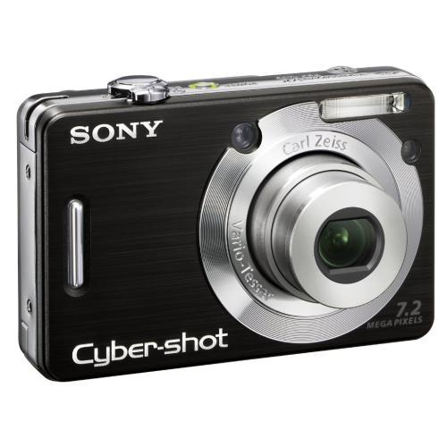 DSCW55/B Cyber-shot Digital Still Camera; Black