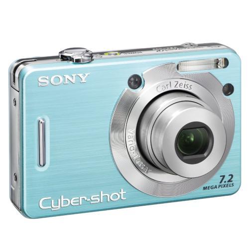 DSCW55/L Cyber-shot Digital Still Camera; Light Blue