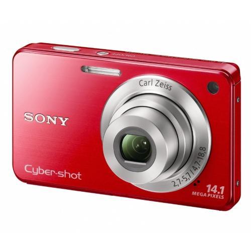 DSCW560/R Cyber-shot Digital Still Camera; Red