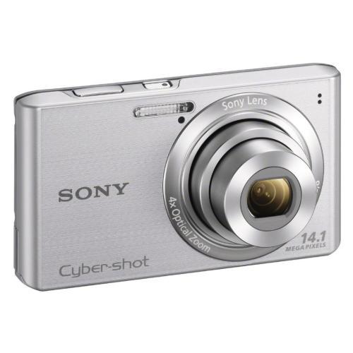 DSCW610 Cyber-shot Digital Still Camera; Silver