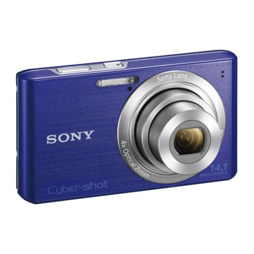 DSCW610/L Cyber-shot Digital Still Camera; Blue