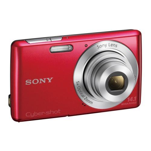 DSCW620/R Cyber-shot Digital Still Camera; Red