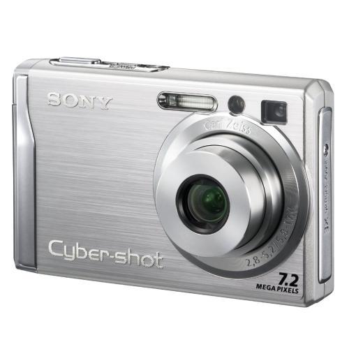 DSCW80 Cyber-shot Digital Still Camera; Silver