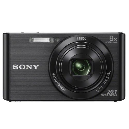 DSCW830/B Compact Zoom Digital Camera; Black