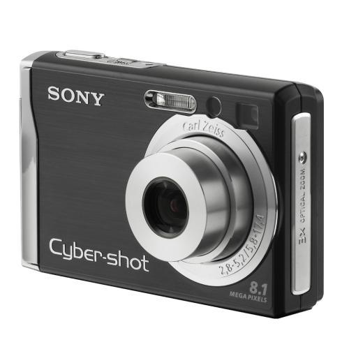 DSCW90/B Cyber-shot Digital Still Camera (Black)