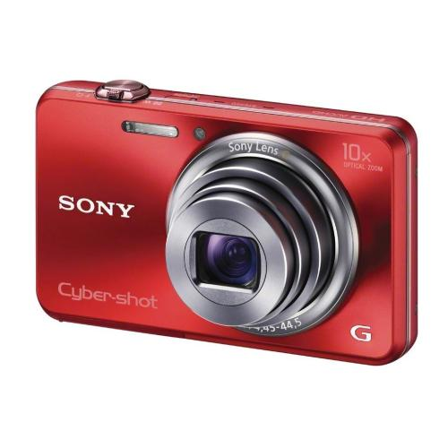 DSCWX150/R Cyber-shot Digital Still Camera; Red
