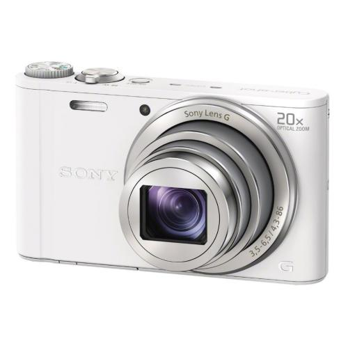 DSCWX300/W Cyber-shot Digital Still Camera; White
