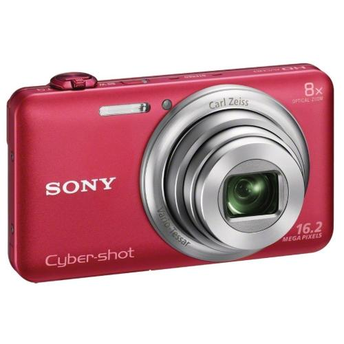 DSCWX80/R Cyber-shot Digital Still Camera; Red