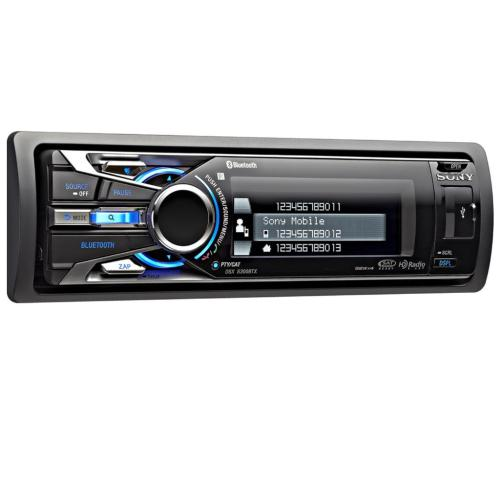 DSXS300BTX Fm/am Digital Media Player