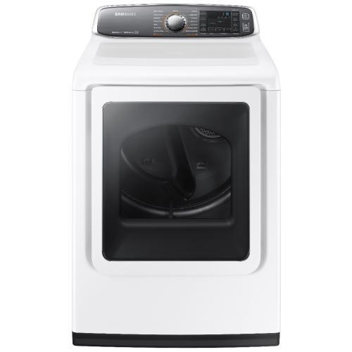 DV52J8700EW/A2 7.4 Cu. Ft. Front-load Electric Dryer
