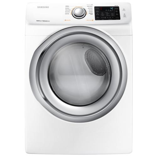 DVE45N5300W/A3 7.5 Cu. Ft. Electric Dryer With Steam