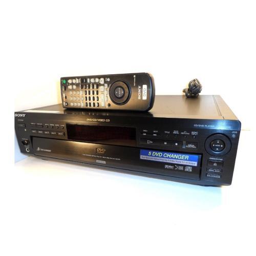 DVPC600D 5 Disc Cd/dvd Player