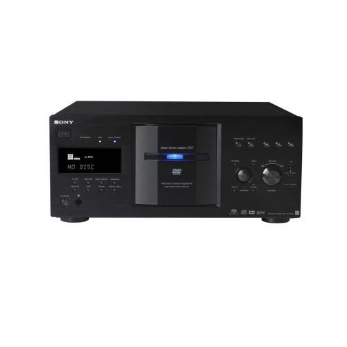 DVPCX777ES Es 400 Disc Dvd/sa-cd/cd Player