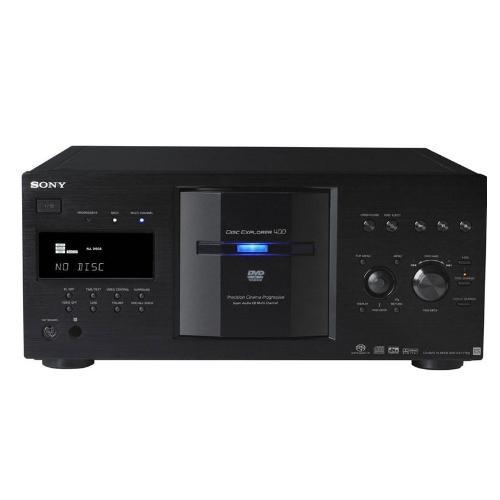 DVPCX777ES/B 400-Disc Dvd/sa-cd/cd Changer; Black