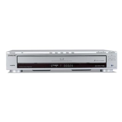 DVPNC800H/S 1080P Upscaling 5-Disc Dvd Changer.