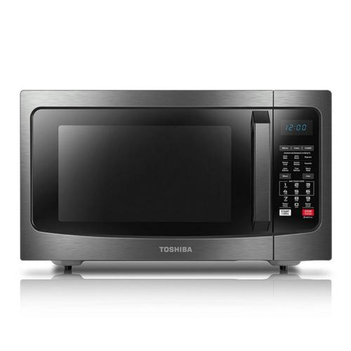 EC042A5CBS 1.5 Cu.ft Microwave Oven Stainless Steel, Black