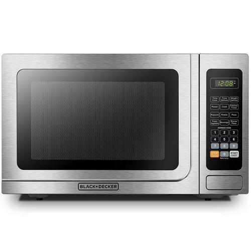 EM036AB14 1.4 Cu. Ft. Stainless Steel Digital Microwave Oven