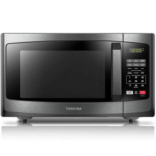 EM925A5ABS Toshiba 0.9 Cu. Ft. Countertop Microwave Oven