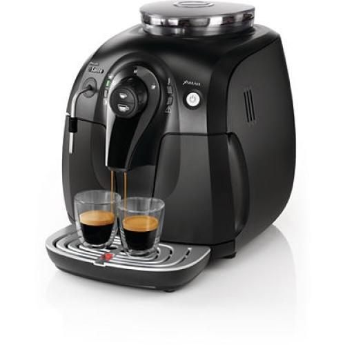 HD8743/12 Saeco Automatic Espresso Machine Xsmall Black