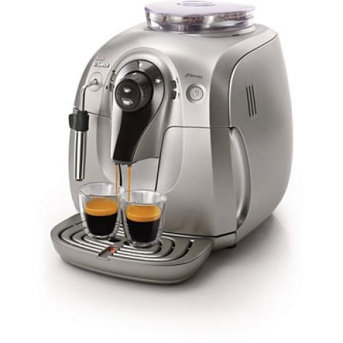 HD8747/02 Saeco Automatic Espresso Machine Xsmall Chrome
