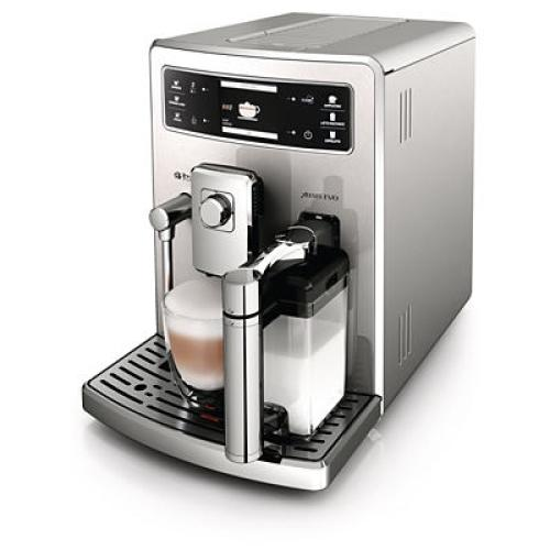 HD8954/09 Saeco Automatic Espresso Machine Integrated Milk Carafe Stainless Steel