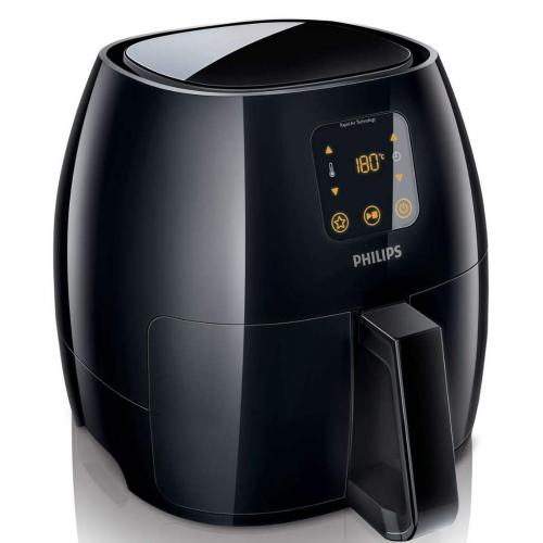 HD9240/94 Avance Collection Airfryer Low Fat Fryer (Black)