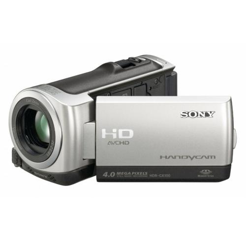HDRCX100 Palm-size Hd Camcorder W/ Smile Shutter Technology; Silver
