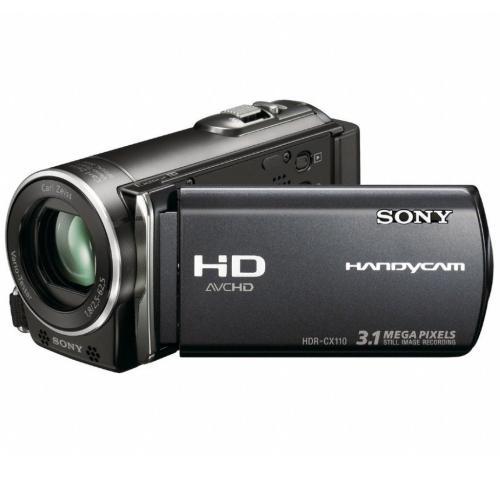 HDRCX110 High Definition Flash Memory Handycam Camcorder; Black