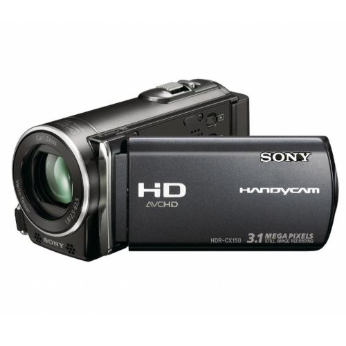 HDRCX150 High Definition Flash Memory Handycam Camcorder; Black