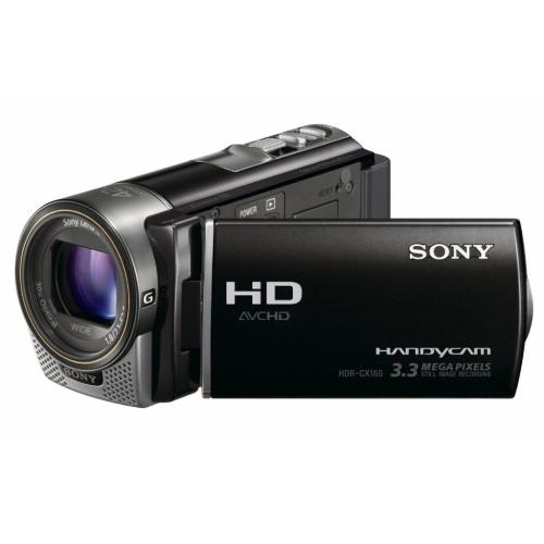HDRCX160/B High Definition Handycam Camcorder; Black