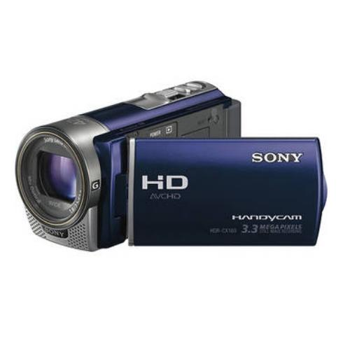 HDRCX160/LI High Definition Handycam Camcorder; Light Blue