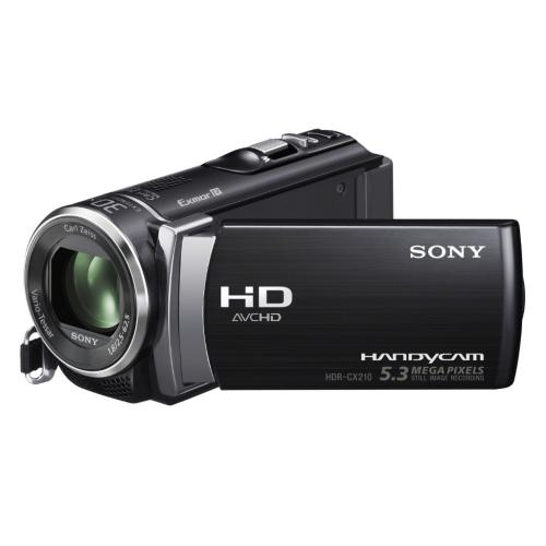 HDRCX210/B High Definition Handycam Camcorder; Black