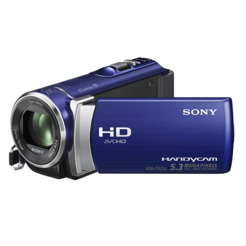 HDRCX210/L High Definition Handycam Camcorder; Blue