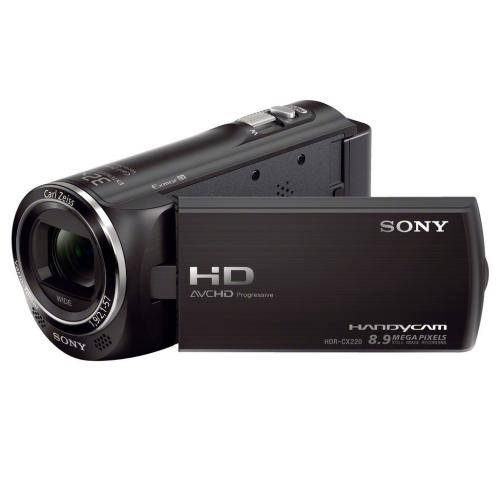 HDRCX220/B High Definition Handycam Camcorder; Black
