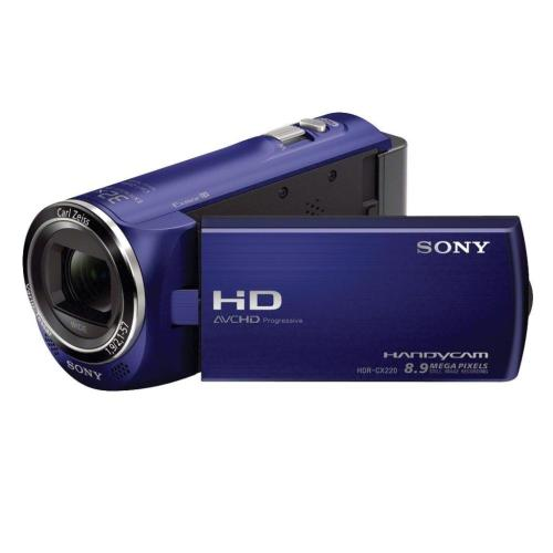 HDRCX220/L High Definition Handycam Camcorder; Blue