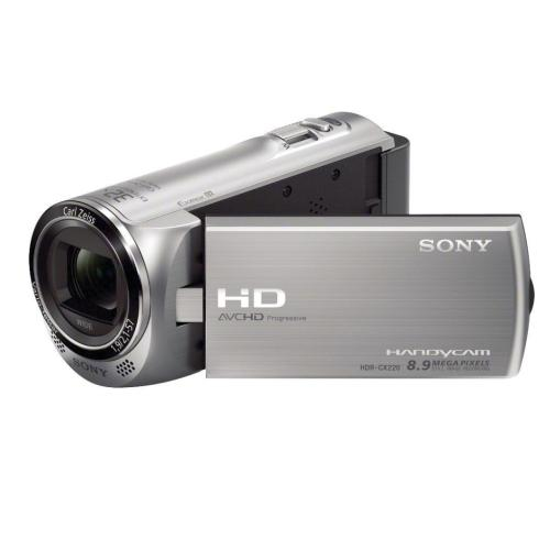 HDRCX220/S High Definition Handycam Camcorder; Silver