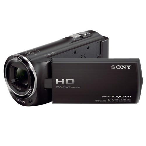 HDRCX230/B High Definition Handycam Camcorder; Black