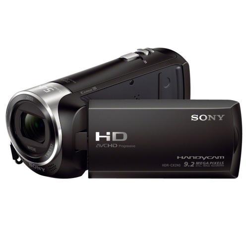 HDRCX240/B Full Hd 60P Camcorder; Black